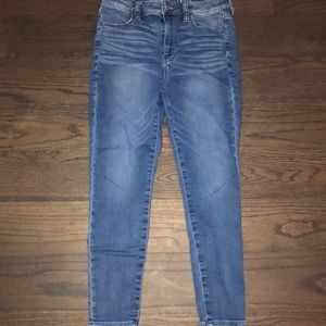 American Eagle super high rise jegging